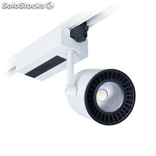 Foco LED carril blanco Proteus 38W Pan 3560Lm