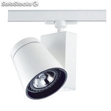 Foco LED carril negro Florida 25W 3000K 1930Lm