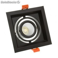 Foco led cree-cob direccionable madison 10w negro