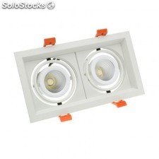 Foco led cree-cob direccionable madison 2x10w