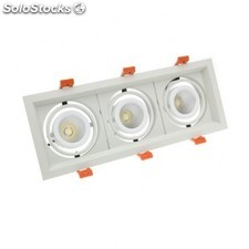 Foco led cree-cob direccionable madison 3x10w
