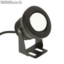 Foco LED de Superficie Negro 7W