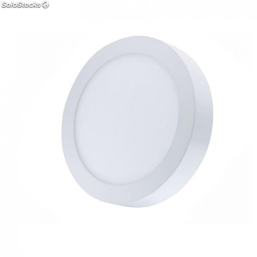 Foco Led Downlight 20W 6000K-Bl Sup. Rdo Silver Elect.