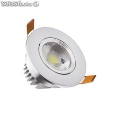 Foco LED Downlight Direccionable COB 7W