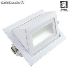 foco led rectangular Empotrable 36w 3200lm 120º IP20