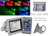 Foco led rgb cob Multicolor 10w ip65 Para exterior e interior