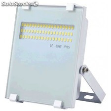Foco proyector LED 20W 4000K compacto blanco chip Led Osram