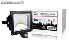 foco proyector led 20w + sensor movimiento radiant led PEC03-12916