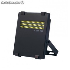 Foco proyector LED 30W 4000K regulable compacto negro