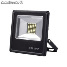 Foco proyector LED 30W 4000K smd negro