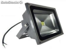 Foco Led 50w Gris Blanco Natural