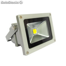 Foco Proyector Led de exterior MICROLED, 10W, Blanco cálido