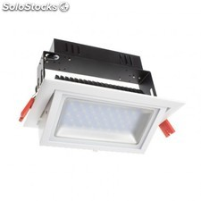Foco proyector led samsung 120lm/w direccionable rectangular 20w