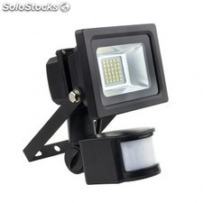 Foco proyector led smd con detector 10w 120lm/w