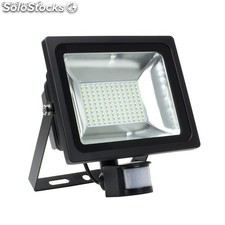 Foco Proyector led smd con Detector 50W 120ml/w