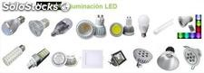 Focos, lampara, tubos, reflector, lampara minera, downlight, tiras led