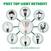 focos led 30 Watt iluminacion exterior Post Top Readaptar - Foto 2