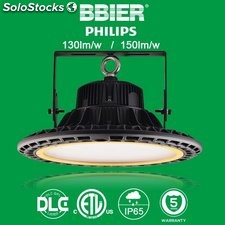 focos led highbay industrial UFO philips 60w 120lm-150lm/w