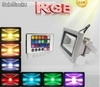 Focos Reflector led rgb 10w Multicolor 16 Colores ac85-265v