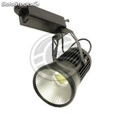 Focus black rail 20W LED COB 3000K warm light 115x168mm (NQ82)