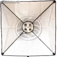 Focus continuous light with softbox 60x60cm 4xE27 (EE75)