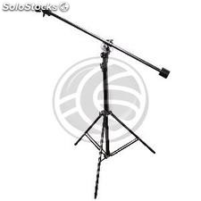 Focus support for photographic studio of 400 cm of 3 sections giraffe type boom