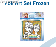 Foil art set frozen