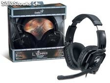 Fone headset gx gaming genius 31710040101 hs-g550 lychas 2.0ch driver 50mm