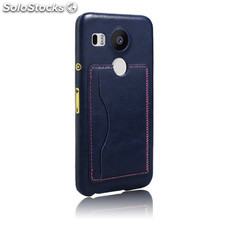 For LG Angler/Google nexus 5 Crazy Horse Pattern Leather Case (5 colors)