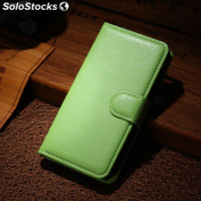 For Sony Xperia M2 AQUA PU litchi Leather Case Cover (9 colors)