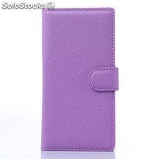 For ZTE Blade Vec 4G/3G PU litchi Leather Case Cover (9 colors)
