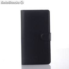 For zte Nubia Z9 max pu litchi Leather Case Cover(9 colors)