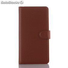For ZTE V3 PU litchi Leather Case Cover (9 colors)