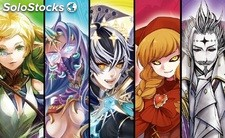 Force of Will - Lapis Cluster: Starter Decks [Display Deluxe 5 mazos] [Inglés]