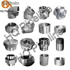 Forged steel pipe fittings / forjada conexión