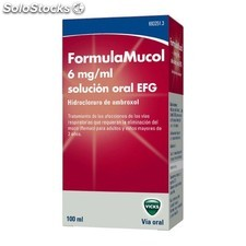 Formulamucol 6 mg/ ml sol oral 100 ml