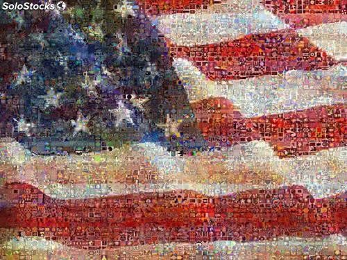 Fotomural Abstracto United State of Art - w:300cm. X h:250 cm.