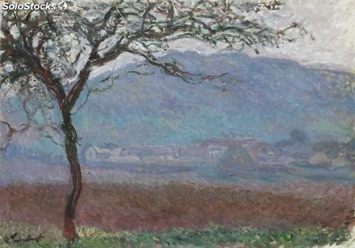 Fotomural Impresionismo Landscape at Giverny, 1887 - w:300cm. X h:250 cm.