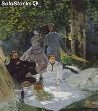 Fotomural Impresionismo Luncheon on the Grass, Center Panel, 1865 - w:300cm. X