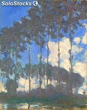 Fotomural Impresionismo Poplars on the Banks of the Epte, 1891 - w:300cm. X