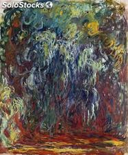Fotomural Impresionismo Weeping Willow , Giverny, 1920-1922 01 - w:300cm. X