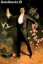 Fotomural Posters Magician poster , 1899 - w:268cm. X h:400 cm.