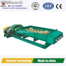 Four shafts mixer to make high quality roofing tiles