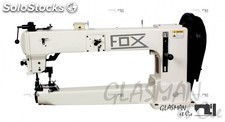 FOX WF 9205-65 Machine triple entrainement a canon navette barrel grand bras