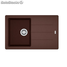 Fregadero de Fragranite Franke Basis BFG-611-78 Chocolate