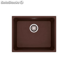 Fregadero de Fragranite Franke Kubus KBG-110-50 Chocolate