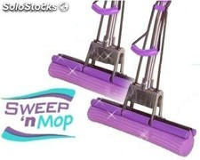 Fregona Sweep and Mop Barre y Cepilla Anunciado en tv