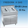 Freidora a gas movilfrit FG20+20