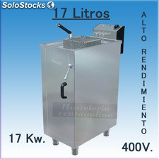 Freidora Electrica aceite movilfrit FAR17 Alto Rendimiento