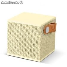Fresh 'n rebel altavoz rockbox cubo buttercup bluetooth amarillo pastel